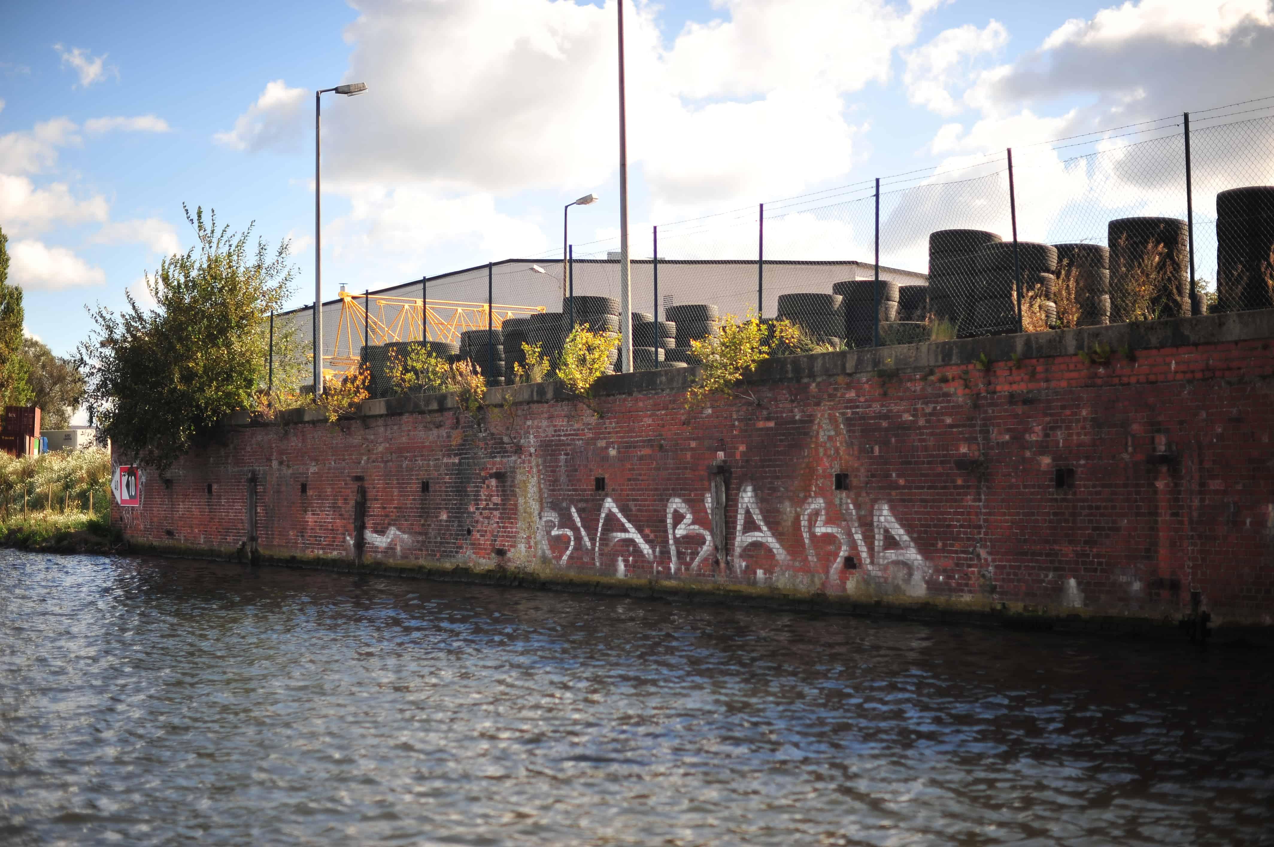 Uferbereiche am Billebecken, Hamburg