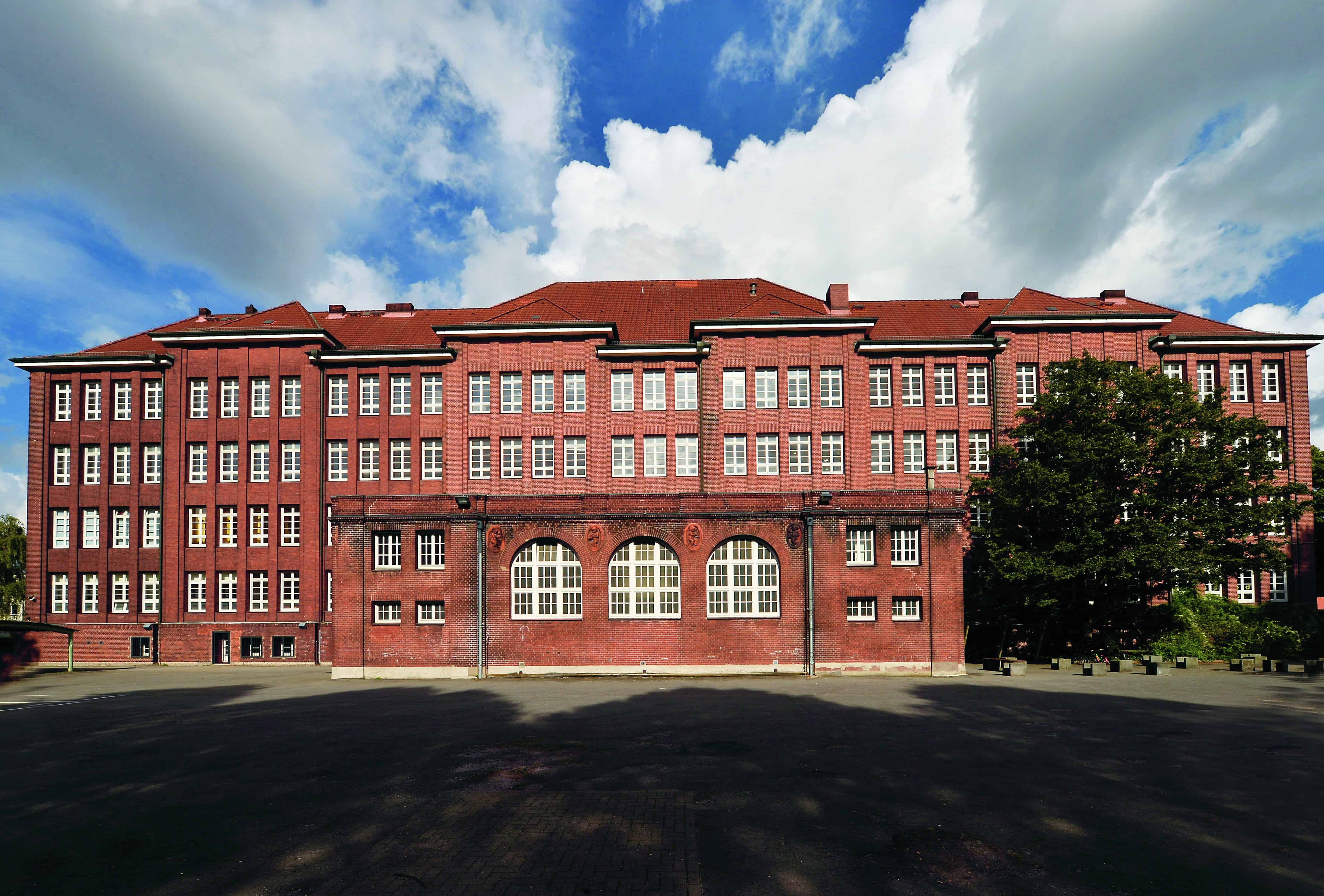 Schulgebäude in Hamburg, Bullenhuser Damm
