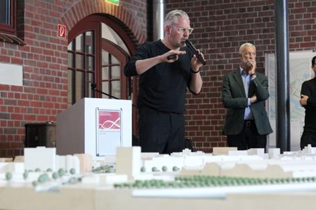 Stadteingang Elbbrücken: Diskussion mit Architekten und Stadtplanern